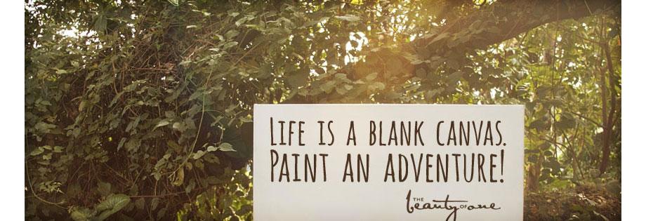 Follow the Blank Canvas